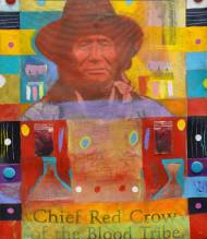 Chief Red Crow of the Blood Tribe