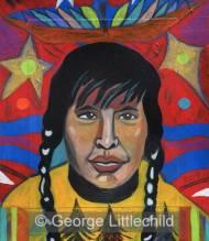 Cree Man in a Thunder Bird Dream