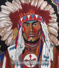 Louis Natuasis of the Plains Cree Tribe