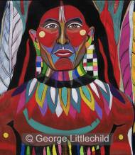 Warrior Indigenous of South America's Sacred Soil