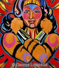 Indigenous Wonder Woman