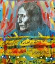Chief Crowfoot of the Blackfoot/Siksika Nation