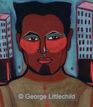 Portrait of Self with Higher Cheek Bones