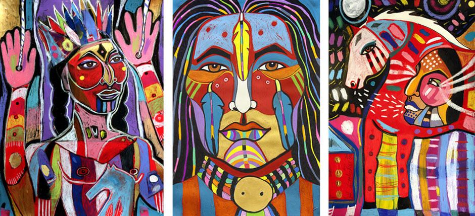 Artists Who Paint Tribes