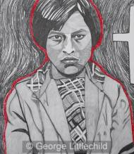 Unidentified Child From The Ermineskin Indian Residential School #1
