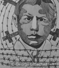 Homage To Late Uncle Louis Littlechild, Who died At The Ermineskin Indian Residential School, 1921-1933. Auntie Tillie said He Was An artist And Nice Looking