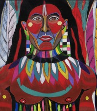Warrior Indigenous, of South America's Sacred Soil